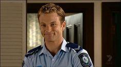 Tim in Police Uniform