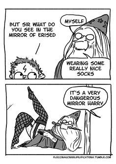 Gallery of Harry Potter webcomics, original: http://floccinaucinihilipilificationa.tumblr.com/