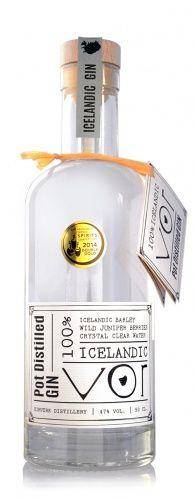 VOR - 100% Icelandic Pot Distilled Gin