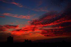 Red sky of Timisoara | Romania
