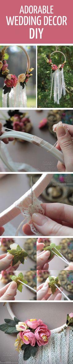 How to make adorable wedding decor #diy / Делаем интересный декор на свадьбу, мастер-класс