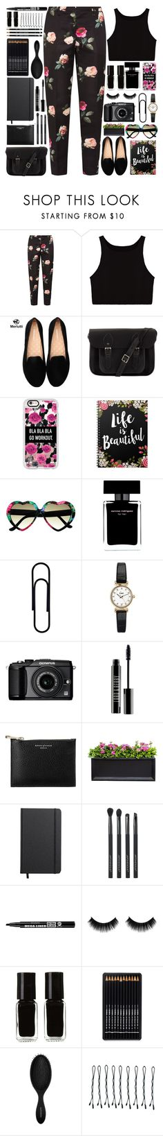 """""""The Odyssey"""" by annaclaraalvez on Polyvore featuring moda, N°21, The Cambridge Satchel Company, Casetify, Narciso Rodriguez, Topshop, Olympus, Lord & Berry, Aspinal of London e Campania International"""