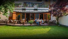 Restaurace Lavička - Seifertova, Prague Menu Restaurant, Mansions, House Styles, Home Decor, Prague, Vacation, Decoration Home, Manor Houses, Room Decor