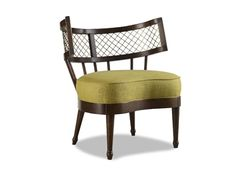 Shop for Chaddock Frye Lounge Chair, Z-1020-30, and other Living Room Chairs at Chaddock in Morganton, NC. Metal and Wood Back.