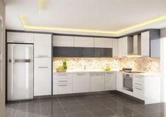Beyaz Mutfak Dolabı Modelleri Önerileri ve Fikirleri
