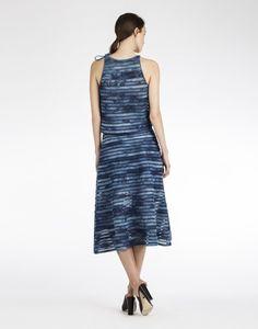 Denim Mesh Midi Skirt  Price : 325.00$