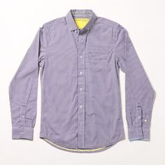 unscruff photography: Descendant of Thieves Purple Button-up