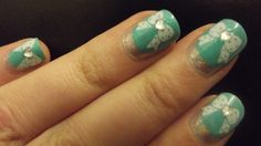 (via Persistently Glittery: Holo Ruffian with Stamping AND Zoya Fleck Effect! YAY!)