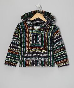 Stone Rainbow Baja Hoodie - Kyle I would like this drug rug for Christmas, please and thanks: )