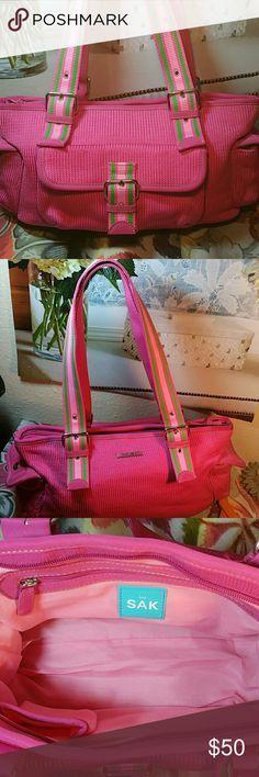 The Sak Brand New Pretty in Pink....Super cute Summer sak. The Sak Bags Shoulder Bags
