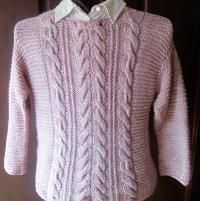 GAELICA - A Cabled Pullover