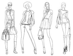 Fashion Illustration by Diana Amancio da Silva