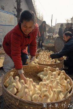 Happy China rural life  Country life A better life