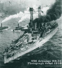 USS Arkansas Battleship