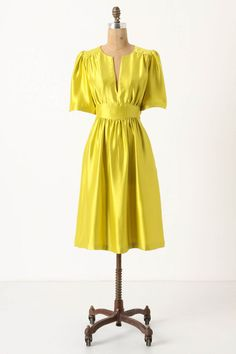 Is it wrong to own two dresses in bright yellow?  If it is, I don't want to be right...this may need to be an addition to my 2012 spring buys.