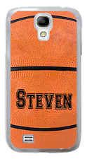 Samsung Galaxy S3 or S4 Personalized Basketball Case