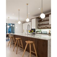 Kitchen Ideas Discover IC Light Suspension by Flos Lighting Classic Kitchen, Farmhouse Style Kitchen, Modern Farmhouse Kitchens, Black Kitchens, Rustic Kitchen, New Kitchen, Cool Kitchens, Kitchen Decor, Kitchen Ideas