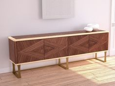 Sideboard Aus Holz Mit Flügeltüren Mit Schubladen ORIGINAL LIFESTYLE |  Sideboard   Carpanelli Contemporary