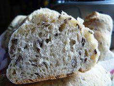 Vegyes saláta: Lenmagos buci Bread, Food, Brot, Essen, Baking, Meals, Breads, Buns, Yemek