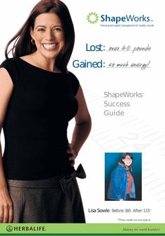 Herbalife Success Guide. Health program, cellular nutrition, wellness, weight control, fitness.