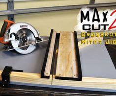 MAX CUT 2 дисковая пила Crosscut и митру Jig