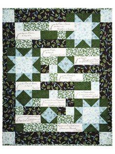 Beatitudes Panel w/Quilt Pattern or Beatitudes Panel