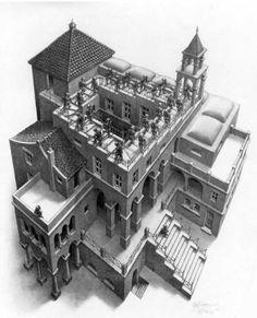 Escher - Going up or going down