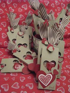 valentine stampin up projects | Wrapping up Valentines