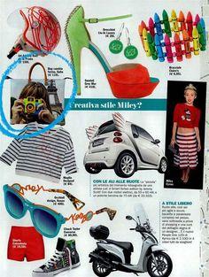 Italian Cosmopolitanin kesäkuun numerossa veikeä Gabsin laukku!