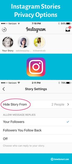 Instagram Stories Privacy Options