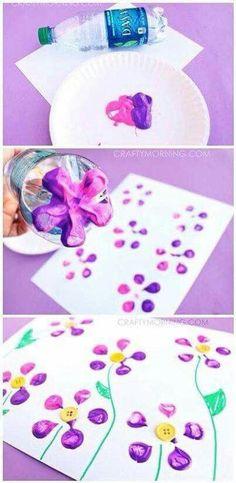 Flower Paint Printing