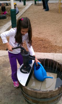 Exploring the Outdoor Classroom: Barrel Pumps in the Outdoor Classroom