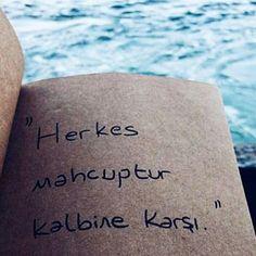 """Herkes mahcuptur kalbine karşı."" - İbrahim Tenekeci"