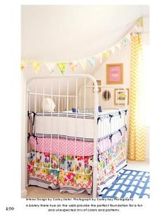 Colourful nursery. Photo by Carley Kay Photography. Design by Carley Slater.
