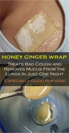 Honey Wrap – Treats Bad Cough and Removes Mucus from the Lungs In Just One Night, Especially Good For Kids! Recipes for Every Occasion for cough, old cough remedies, cough remedies toddlers, suppressant Cough Remedies For Kids, Home Remedy For Cough, Natural Cough Remedies, Natural Cures, Natural Healing, Herbal Remedies, Health Remedies, Natural Treatments, Toddler Cough Remedies Night