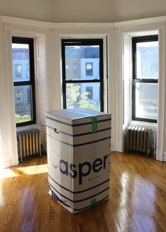 Within a couple days of placing my order, my Casper mattress arrived in a 68-pound box. Though I could have pushed the box from the front door to my bedroom, the delivery man was nice enough to carry it for me. Since the mattress doesn't have springs, it can be folded and stuffed into the golf-club-sized package. It's no wonder Kylie took to Instagram to show off her Casper box — the packaging is pretty genius.