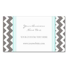 This great business card design is available for customization. All text style, colors, sizes can be modified to fit your needs. Just click the image to learn more! Elegant Business Cards, Business Card Design, Gray Chevron, Text Style, Blue Grey, Learning, Retro, Colors, Fit
