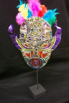 Great handout for lesson Aluminum Foil Art, Middle School Art Projects, 7th Grade Art, 3d Art, Inka, Sharpie Art, Masks Art, Art Lessons Elementary, Art Lesson Plans