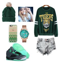 """""""^_____^"""" by hopsinem ❤ liked on Polyvore featuring Glamorous, Casetify and FOSSIL"""