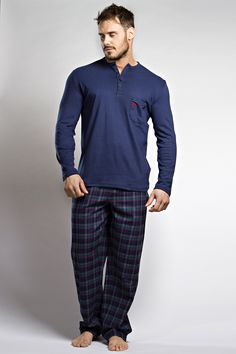 First class loungewear is a must for modern gents. These pure cotton men's PJs from HOM are irresistible quality and make a great gift for any special men in your life. See the Monceau Pyjama online at Deadgoodundies.