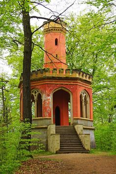 IV lookout tower in Karlovy Vary / Czech. Charles IV lookout tower in Karlovy Vary / Czech Republic (by Andrey Sulitskiy).Charles IV lookout tower in Karlovy Vary / Czech Republic (by Andrey Sulitskiy). Abandoned Castles, Abandoned Mansions, Abandoned Places, Old Buildings, Abandoned Buildings, Beautiful Architecture, Beautiful Buildings, Beautiful World, Beautiful Places
