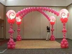 balloon dance floor