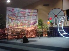 Our decorations for Colossal Coaster VBS 2013