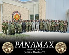 A large group of soldiers dressed in combat fatigues stand together in four rows in front of a building. Fort Sam Houston, Canadian Army, Panama Canal, Military Police, New Details, Armed Forces, Canada, Usa, Building