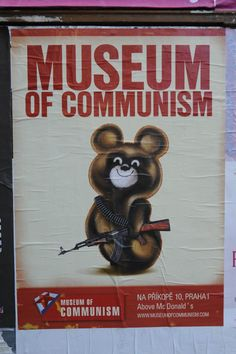 Museum of Communism at Prague in September,2011.