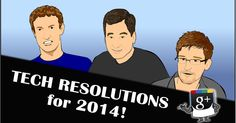 In this comic, Nitrozac and Snaggy of 'The Joy of Tech' offer some resolutions for tech bigwigs to aim for in 2014.