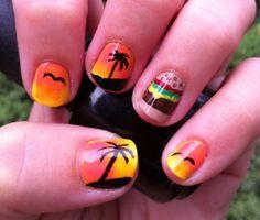 jimmy buffett nails - Google Search