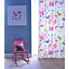 Flower Field Linen - Bluebellgray. Cushion Design, Chair Cover Design and Wallhangings