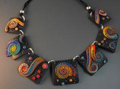 Black Spirals by MargitB., via Flickr