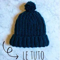 [DIY] : le bonnet express Chunky de Mademoiselle Quincampoix